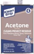 Where to rent Klean-Strip GAC18 Acetone, 1 Gal in Chillicothe OH