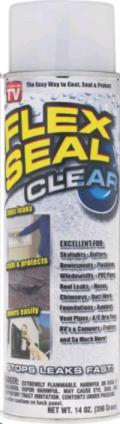 Rental store for FLEX SEAL CLEAR 14OZ in Chillicothe OH