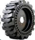 Rental store for TIRE, LOADER SOLID FLEX  set of 4 in Chillicothe OH